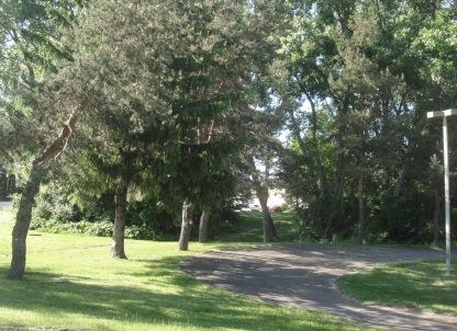 vue du parc sablon