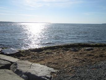 vue du lac st-louis