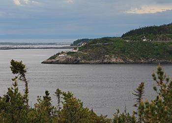 vue sur fjord
