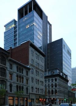 vieux et moderne montréal