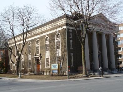 westmount baptiste église