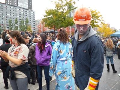zombie ouvrier de construction