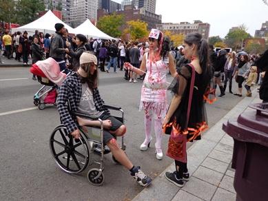 zombie handicapée