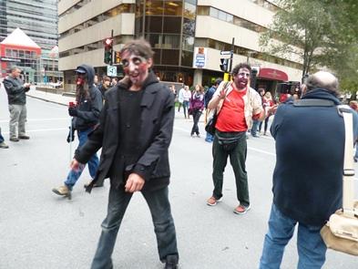 zombie a montréal