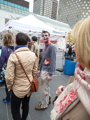 zombie montréal