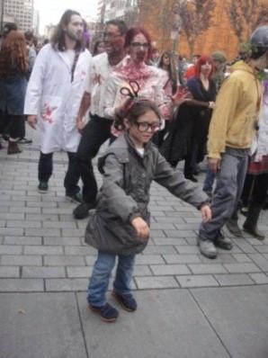 zombie une fille