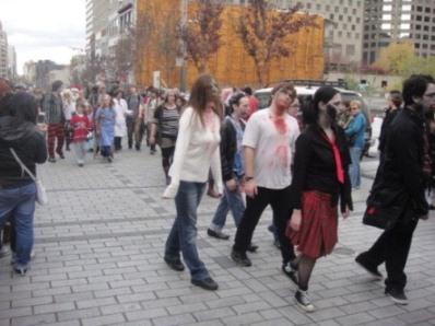 zombies avancent